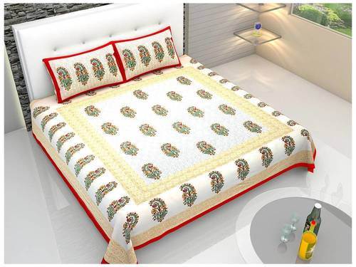 Prochine Print cotton bed sheets