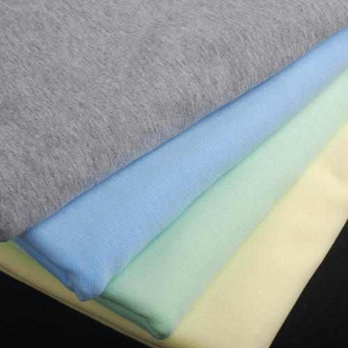 Colored Cotton Lycra Fabric