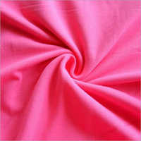 Pink Color Cotton Lycra Fabric