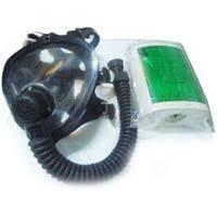 Canister type gas mask