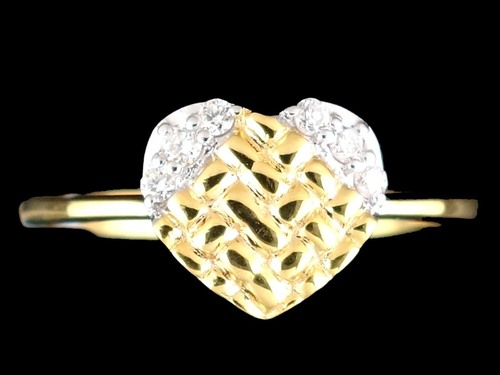 HEART SHAPE DIAMOND RINGS