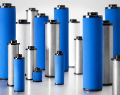 Compressed air filter element