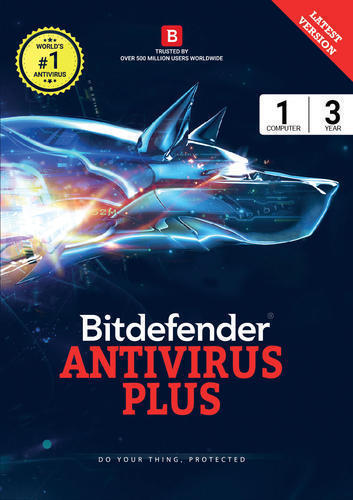 Bitdefender Antivirus Plus 1 Device, 3 Years