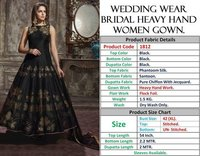 WEDDING WEAR BRIDAL HEAVY HANDWORK GOWNS