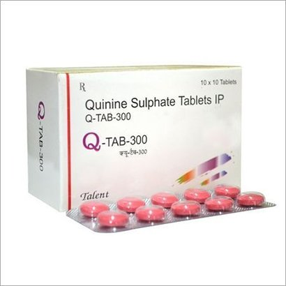 Quinine Sulphate Tablet Certifications: Who Gmp Coa (As Per Clients Requirement)