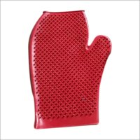 Cow Washing Rubber Glove