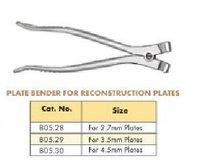 Plate Bender Reconstruction Plates