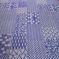 Wholesale India Kantha Tapestry 100% cotton Vintage Patchwork Indigo old style Handstitched Bedsheet