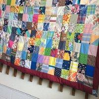 Handmade Indian 100% Cotton Bed Sheet Ethnic Printed Designer Twin Size Kantha Thread Work Patch Work Bed Sheet