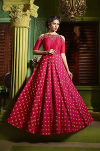 WEDDING WEAR PARTY WEAR HEAVY HANDWORK GOWNS