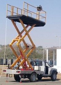 Mini Vehicle Mounted Scissor Lift