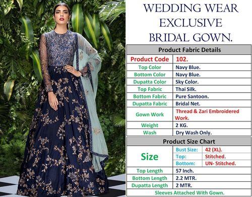 WEDDING WEAR  BRIDAL GOWNS