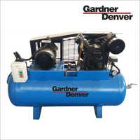Lubricated Air Cooled Reciprocating Compressor