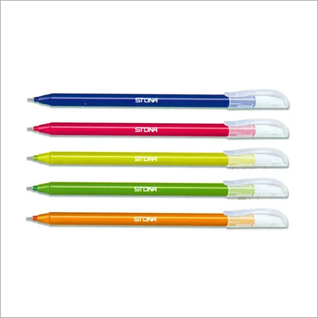 Colored Ink Disposable Ball Pen