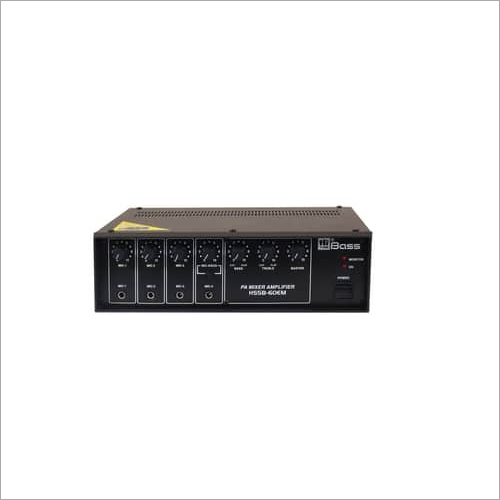 Hitune Bass 60 watt PA Medium Power Mixing Amplifier HSSB-60EM