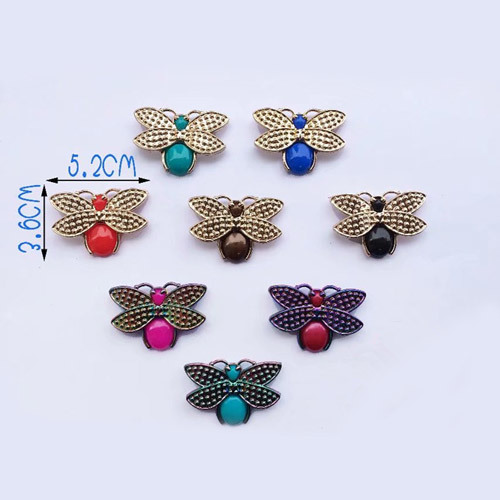 Butterfly Shape Shoes Clips