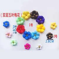 Plastic Shoes Flower Clips
