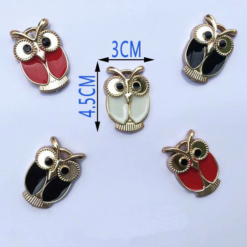 Owl Shape Shoes Buckle