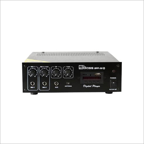 30 Watt PA Mixing Amplifier