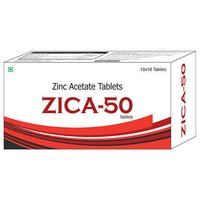 Zinc Acetate Tablets (ZICA-50)