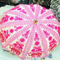 Rajasthani Sun Umbrellas Handmade Cotton Banjara Work Fashion Umbrella