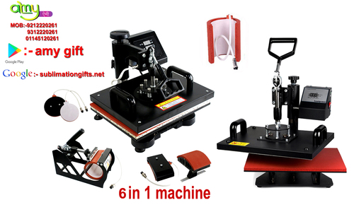 6 in 1 Combo Printing Machine