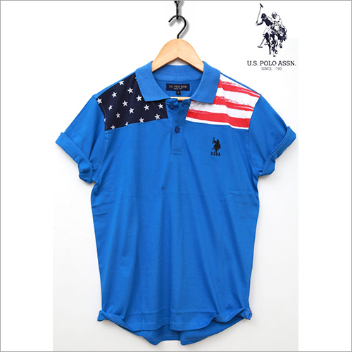 Blue Polo T-Shirt