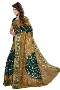 New Fancy Bandhani Printed Saree