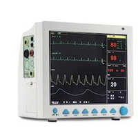 Five parameter patient monitor cms 8000