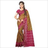 Bandhani Fancy Printed Saree