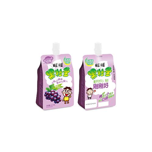 300ml Want Want Fruit Pulps Juice Drink  (Grape Juice)