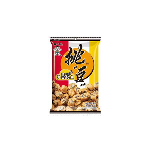 80g Want Want Seaweed Coated Peanuts