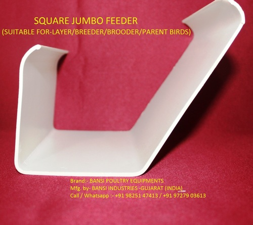 SQUARE JUMBO FEEDEER