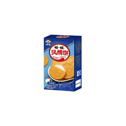 55g Want Want Breezy French Wafer (Milk Flavor)