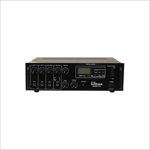 75 Watt PA Mixing Amplifier with Digital Player (Bluetooth)