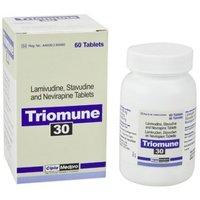Lamivudine, Stavudine And Nevirapine Tablet