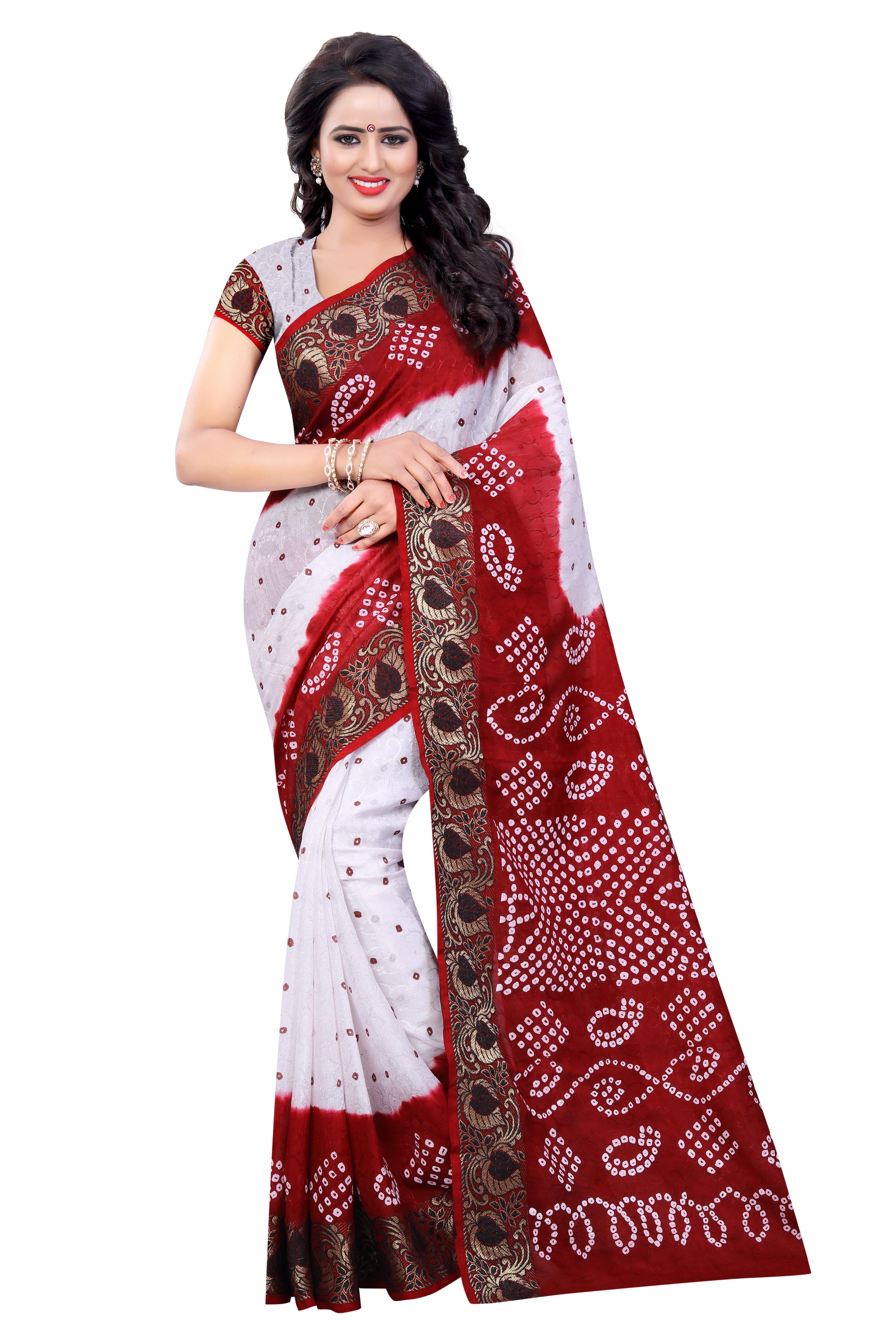 Bandhani Printed saree