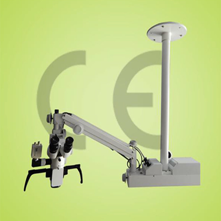 Surgical Operating Portable Ceiling Mount Microscope