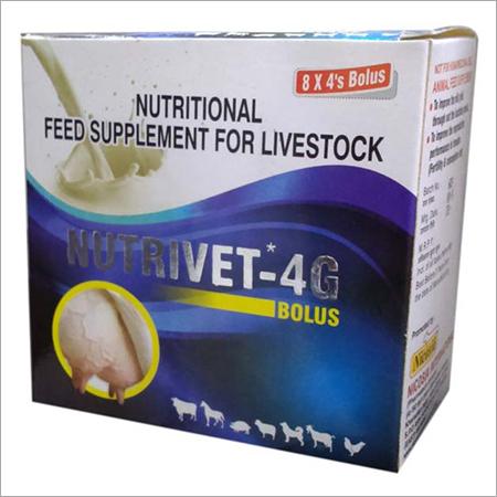 NUTRIVET 4G BOLUS MILK PRODUCTION