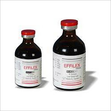 VIT.B COMPLEX & LIVER EXTRACT INJ EFFILEX