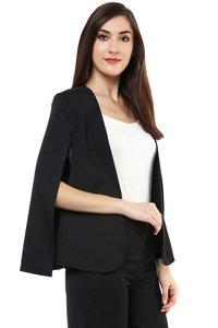 Black Cape Jacket