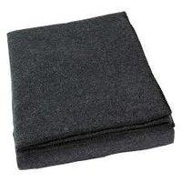 50% Woolen Grey Relief Blanket 1400g 54*84inches