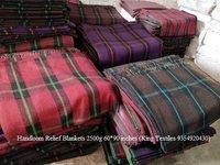 Handloom Blankets - Relief 235x140cm 2200g