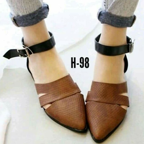 Pointed Closed Toe Sandals