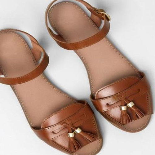 Ladies Flat Sandal