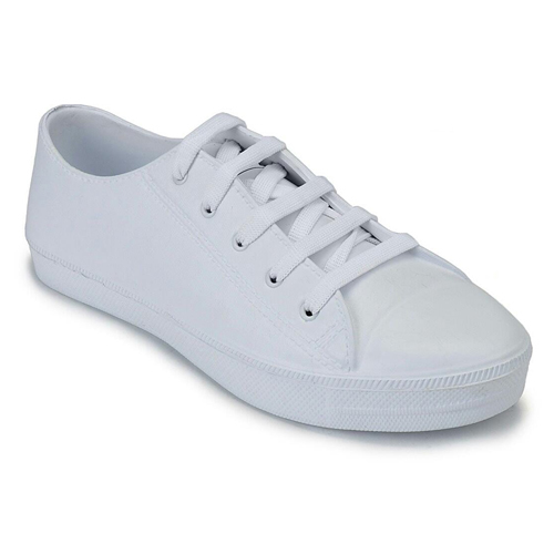 Ladies White Casual Shoes