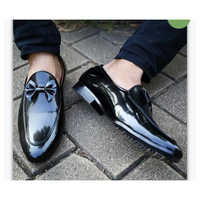 Men's Leather Loafers Shoes