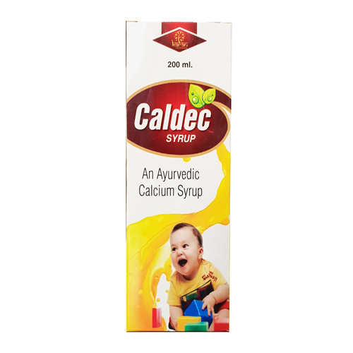 200ml Caldec Syrup