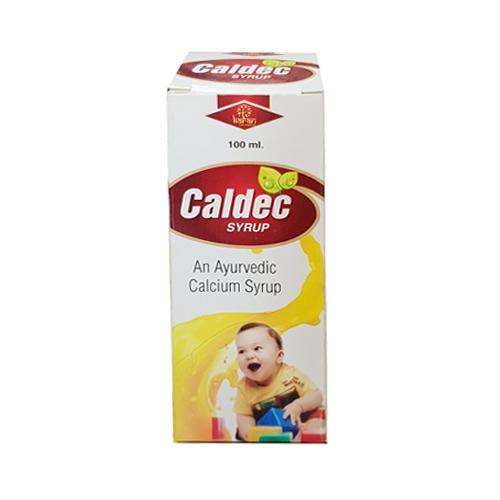 100ml Caldec Ayurvedic Calcium Syrup