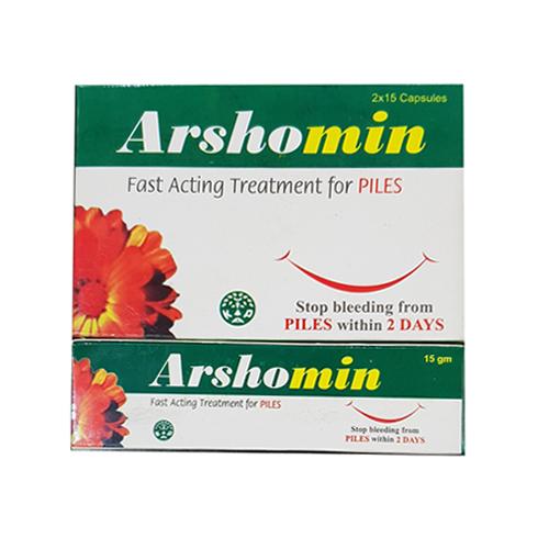 Arshomin Piles Capsules